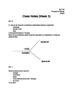 SCI - Class Notes - Week 3
