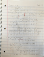 MATH 1150 - Class Notes - Week 4