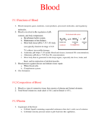 what gives rise to all the formed elements of the blood?