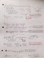 MATH 161 - Class Notes - Week 1