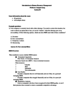 Rutgers - OTH 301 - Study Guide - Midterm