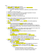 PSY 6 - Study Guide