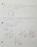MATH 161 - Class Notes - Week 2