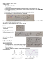 UH - CHEM 3331 - Study Guide - Midterm