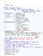 POLS 1101 - Class Notes - Week 5