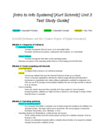 COMM 2010 - Study Guide
