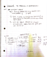 Baylor University - MTH 1301 - Class Notes - Week 5