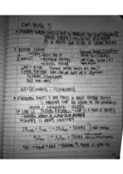CHM 2045 - Class Notes - Week 5