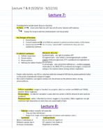 WGSS 208 - Class Notes - Week 4