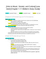MUS 113 - Study Guide