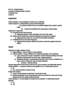 PHIL 164 - Class Notes - Week 3