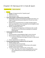 AD 1750 - Class Notes - Week 6
