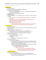 BLAW 2301 - Class Notes - Week 2