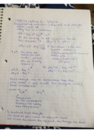 CHEM 210 - Class Notes - Week 4