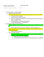 ECON 102 - Class Notes - Week 6