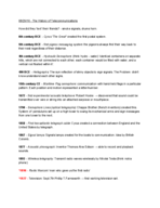 IC - TVR 32200 - Study Guide - Midterm