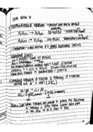 CHM 2045 - Class Notes - Week 6