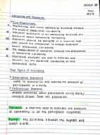PSY 1458 - Class Notes - Week 4