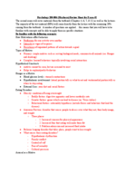 PSY 200 - Study Guide