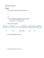 Santa Rosa Junior College - BIOL 0482 - Study Guide - Mid...