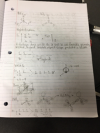 CHEM 101 - Class Notes - Week 6