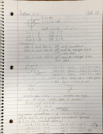 MATH 1150 - Class Notes - Week 8