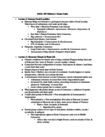 UO - GEOL 305 - Study Guide - Midterm
