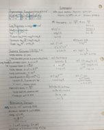 MTH 122 - Study Guide
