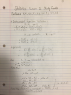 ENGL 30853 - Study Guide