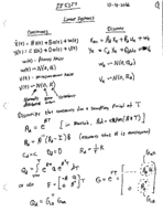 Give an example of linear system continious.