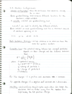CHM 2045 - Class Notes - Week 10