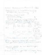 BME 8 - Class Notes - Week 1