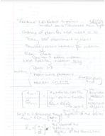 BME 8 - Class Notes - Week 5