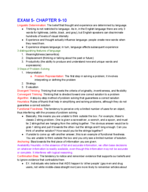 PSY 1000 - Class Notes - Week 9
