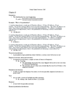 Jus 240 - Study Guide
