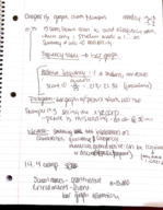 Baylor University - MTH 1301 - Class Notes - Week 10