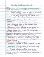 PSY 3604 - Study Guide