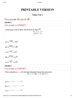 UH - MATH 2433 - Study Guide - Midterm