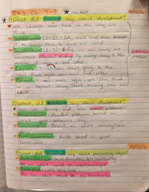 College of Lake County - SBS 121 - Class Notes - Week 8