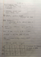 MATH 124 - Class Notes - Week 7