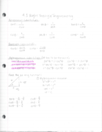 MATH 1508 - Class Notes - Week 11