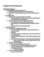 AD 1750 - Class Notes - Week 13