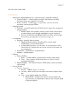 MB 150 - Study Guide