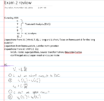 EGEE 203 - Study Guide