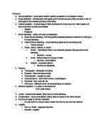 PHIL 164 - Class Notes - Week 7