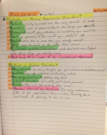 College of Lake County - SBS 121 - Class Notes - Week 11