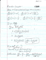 Pace - MATH 111 - Class Notes - Week 10