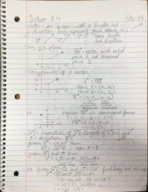 MATH 1150 - Class Notes - Week 13