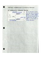 CHEM 2321 - Class Notes - Week 9