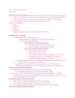 PSY 51 - Study Guide